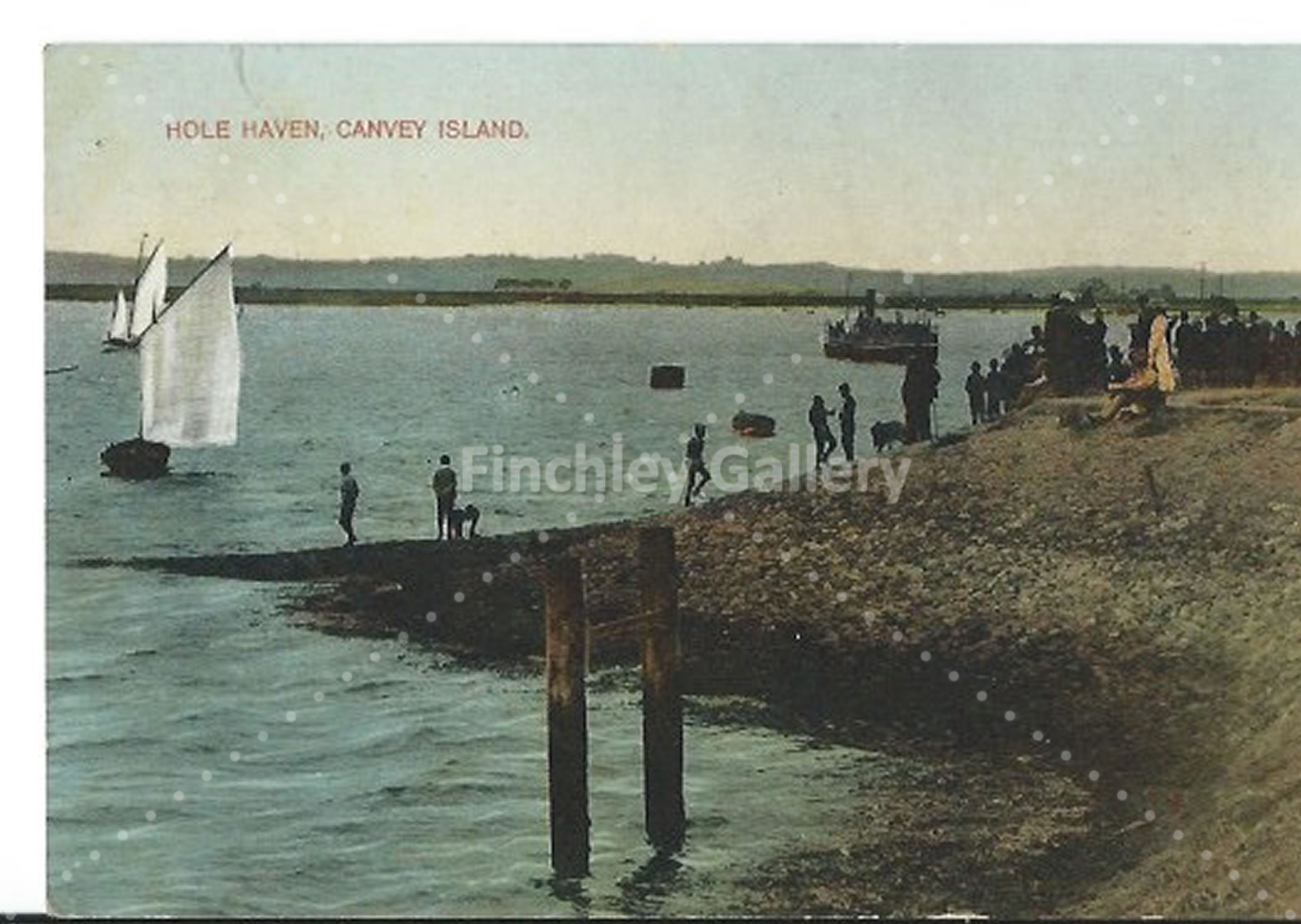 Hole Haven Canvey Island 1913