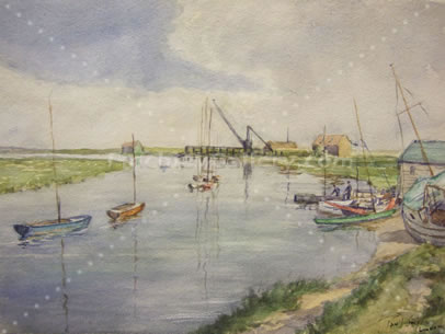 THE CREEK, CANVEY, 1952