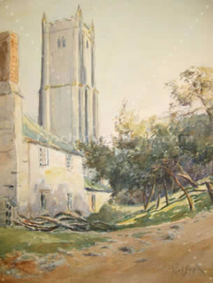 TORBRIAN CHURCH, DEVON -1932