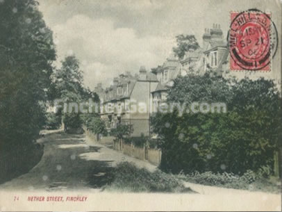 Nether Street, Finchley 1921