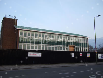 Police Station, Friern Barnet Lane (to be redeveloped, photo)