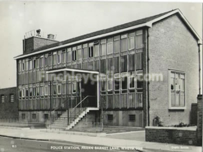 Police Station, Friern Barnet Lane (to be redeveloped)