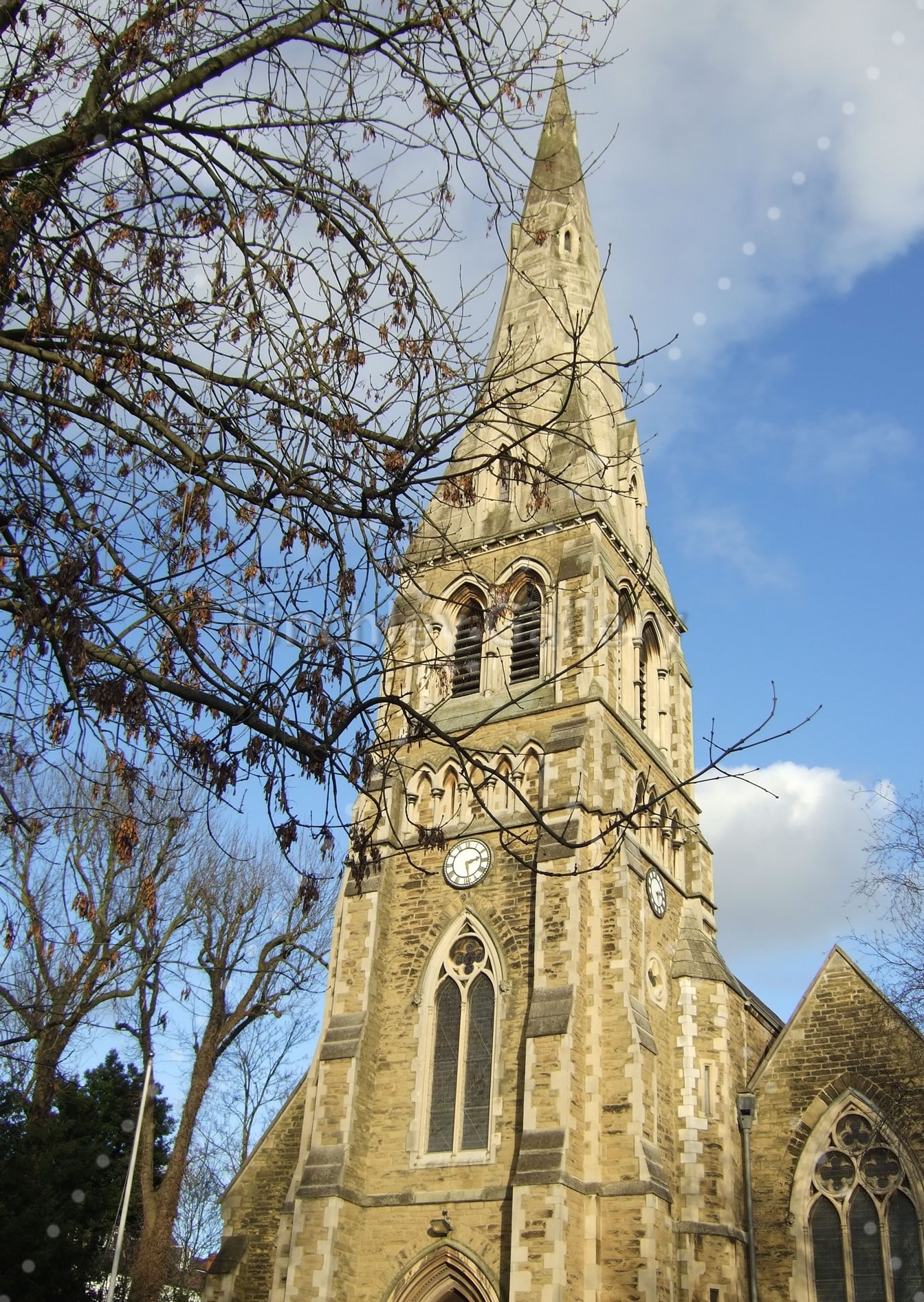 St Michael's Church Highgate 2015 The church stands higher than any other London Church