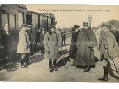 King of England & French President during WW1