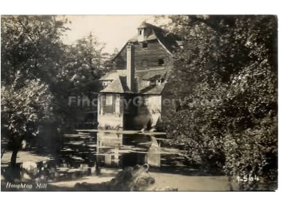 POSTCARD OF HOUGHTON MILL