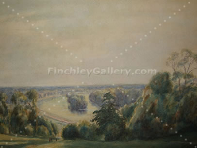 THE VIEW FROM RICHMOND HILL, SURREY, AUGUST 1936