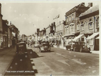 The High Street, Marlow 1958