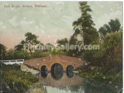 Ford Bridge, Ashford, Middlesex 1904