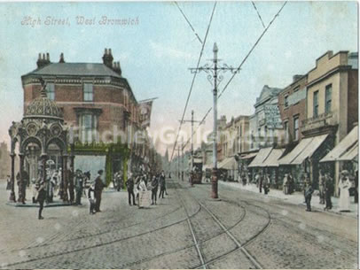 High Street, West Bromwich, West-Midlands