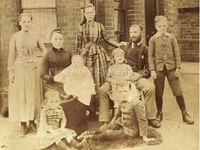 The Symth Family, London 1889