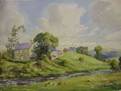 TREGARON FROM ST. JOHN'S HOUSE, 1948