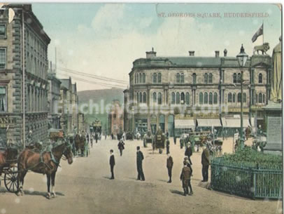 St. Georges Square, Huddersfield, Yorkshire